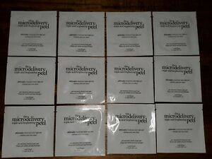 New! Lot of 12 PHILOSOPHY The Microdelivery Triple-Acid Brightening Peel Pads