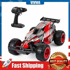 Remote Control Car, 2.4 Ghz High Speed Racing RC Car Kids Toys 4 Batteries Red