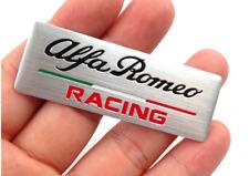Targhetta per ALFA ROMEO Racing Giulia Giulietta Mito 147 159 Logo Adesivo