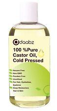 500 ml Pure Organic Castor Oil, BP Grade, Cold Pressed, Carrier Oil.FREE P&P