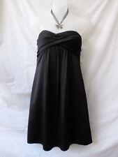 BCBGMAXAZRIA Size 8 Cocktail Dress NEW Black Strapless Evening Party Occasion