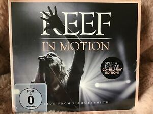 Reef : In Motion: Live from Hammersmith CD Album with Blu-ray 2 discs New/sealed
