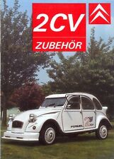 CITROEN 2CV 1990 ACCESSORIES German text Brochure