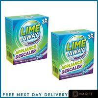 Lime Away Professional Limescale Remover Bathroom Toilet Kitchen Drain - 3pk