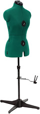 Adjustable Dress Form Sewing Notions Supplies Mannequins Small Size Opal Green