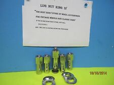 10 LUG NUTS 1/2-20 OPEN END FOR WELD WHEEL, CRAGAR SST FOR MOROSO STUDS W/779