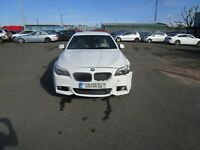 2012 (61) BMW 535D M SPORT AUTOMATIC 3.0 DIESEL DAMAGED REPAIRABLE SALVAGE