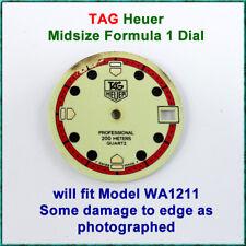 Genuine Swiss TAG Heuer Midsize Formula 1 Dial for WA1211