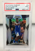 Zion Williamson 2019 Panini Prizm Draft Picks #64 SILVER PRIZM PSA 9 Mint
