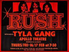 "Rush Apollo 16"" x 12"" Photo Repro Concert Poster"