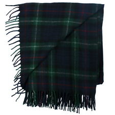 New Long Neck Fashion MacKenzie Tartan Scarf - Scottish Wool Clan Scarves