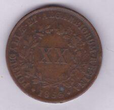 1853 Portogallo 20 REIS in condizioni near in perfetta condizione