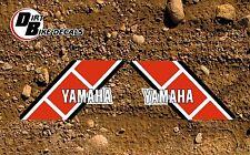 Yamaha ty 250 essais vélo tank decals stickers graphics