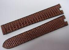 BRACELET CUIR CARTIER BOUCLE DEPLOYANTE POUR MONTRE 13 MM STOCK ANCIEN