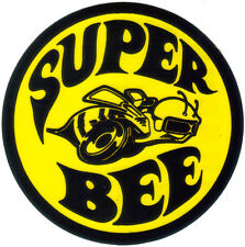 Dodge Super Bee circular sticker / decal B Body Coronet Charger SRT-8 bumblebee