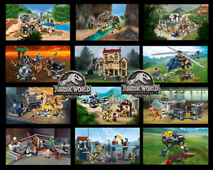 Adelaide JW Collection All New Bricks Dinosaurs all fit Jurassic World Lego