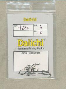 Daiichi 4250 - salmon egg - size 06 - quantity 10