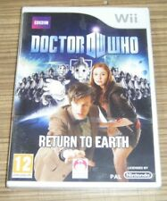 New Sealed Nintendo Wii Game - Doctor Who: Return To Earth