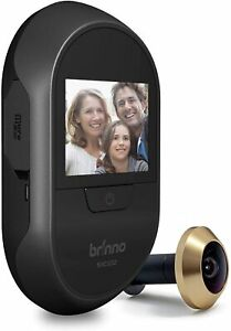 Brinno PeepHole Camera SHC500, See & Record Your Visitors