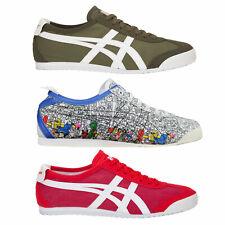 Onitsuka Tiger Mexico 66 Herren-Sneaker Stoff asics Textil Schuhe Halbschuhe NEU