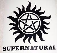 Bumper Car Vinyl Sticker decal window art outdoor door Pentagram supernatural