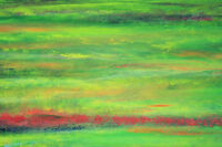 "perfact 36x24 Modern abstract oil painting handpainted on canvas"" Field"" @NO3669"