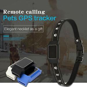 Mini Waterproof Pet Collar Cat Locator GPS GSM Alarm Tracker Anti-lost Locator