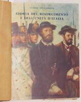 CESARE SPELLANZON STORIA DEL RISORGIMENTO SPIELBERG GIOBERTI GIOVINE ITALIA 1930