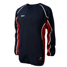 Wilson Mens Ls Pullover sweater Shirts Sports Tee Size Xl Navy