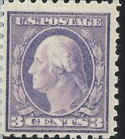ORLEY STAMPS  US Stamps # 426 F-VF MNH/OG 1914-1915 Washington  3 cents