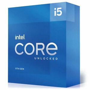 Intel Core i5-11600K Processor (4.9 GHz, 6 Cores, Socket LGA1200) Box - BX807081