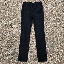 "Helmut Lang Women's Size 27 Black Piece Dyed Jeans Pants 707HW408 34"" Inseam"