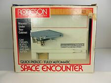 New Nos Robeson Space Encounter Under Counter Saver Automatic Can Bottle Opener