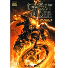 BD comics Marvel Ghost rider: The road to damnation