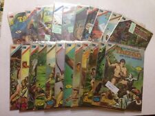 Tarzan 70's Spanish Comic Editorial Novaro, In Color,  Lot Of 22