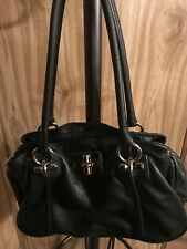 b makowsky leather handbag