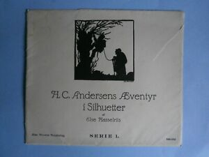 Else Hasselriis, Silhouette illustrations to Andersen's Fairy Tales, Serie 1 & 2