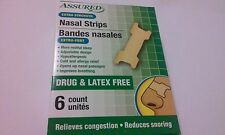 (18) Nasal Strips cold & alergy restful sleep latex free improves breathing