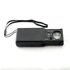 30X 60X UV LED Jewelry Magnifier Mini Magnifying Glass Loupe Hand Len Handheld U
