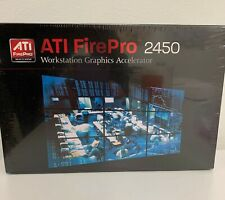 *NEW* ATI FirePro 2450 Multi-View Dual  512MB PCIe Video Graphics Card