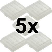 5 x Aufbewahrungsbox für AAA / AA Batterie Batteriebox Mignon Micro Akku Box