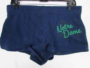 Notre Dame Fighting Irish NCAA Womens Boy Shorts Dark Blue