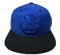 Golden State Warriors Mitchell & Ness Blue Tonal Black Snapback Hat Adjustable