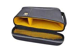 """Case Logic Festplattentasche 5.25"""" 3.5"""" 2.5"""" Zoll Reissverschluss robust Tasche"""
