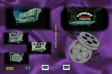 COMEDY DRIVE-IN THEATER Limited Edition Abbott and Costello film 2 DVD Movie Set