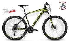 BICI BICICLETTA KROSS MTB MOUNTAIN BIKE ALLUMINIO 26 27.5 29 SHIMANO LIME LUCIDO