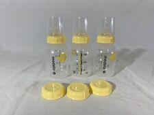 Medela 5oz. Baby Feeding Bottles with Nipples - Set of 3 - Used