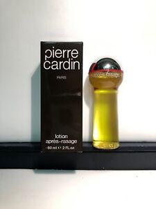 Vintage PIERRE CARDIN Paris after shave Lotion Splash 60ml 2oz ref 7705