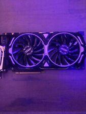 MSI GeForce GTX 1070 Armor 8G OC Edition - 8GB Graphics Card