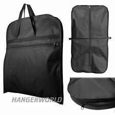 "Black Suit Carry Cover Garment Travel Storage Protector Bag 44"" Hangerworld"